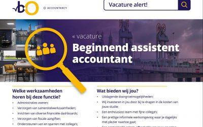 Beginnend assistent accountant