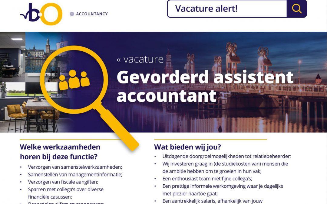 Gevorderd assistent accountant