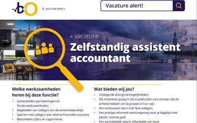 Zelfstandig assistent accountant